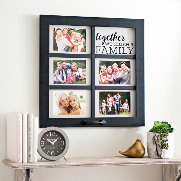 together windowpane collage frame - Collage Photo Frames