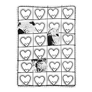 Iron Wire Heart Collage Frame