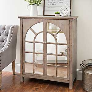Sarah Mirrored Arch Cabinet
