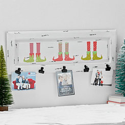 Elf Feet Stocking Holder with Clips
