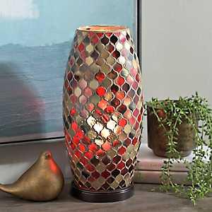 Caramel Splendor Mosaic Uplight