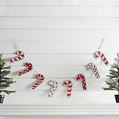 Candy Cane Hanging Banner