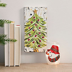 Christmas Tree Canvas Art Print