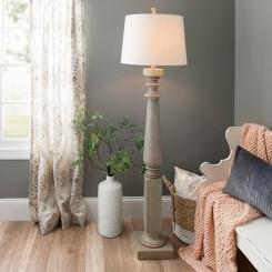 Crawford Creek Turned Floor Lamp