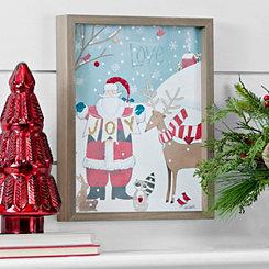 Woodland Christmas Framed Art Print