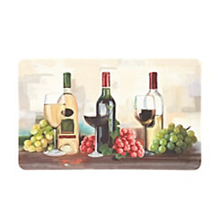 Rofino Wine Trio Kitchen Mat