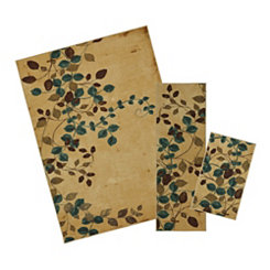 Plum Vine 3-pc. Rug Set