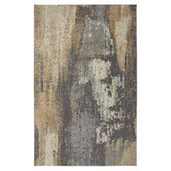 Truro Gray Shag Area Rug, 5x8