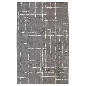 Chatham Gray Shag Area Rug, 5x8