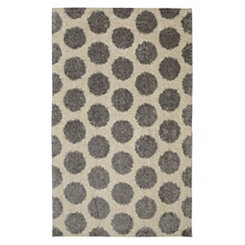 Bay Blue Mystic Dots Area Rug, 5x8