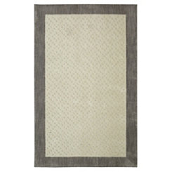 Christiana Cream Shag Area Rug, 8x10