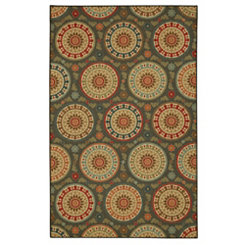 Amias Medallion Area Rug, 5x7