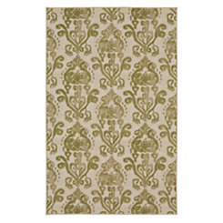 Bali Light Green Area Rug, 5x8