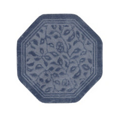 Wellington Blue Octagonal Accent Rug