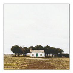 Farmhouse Landscape Canvas Art Print