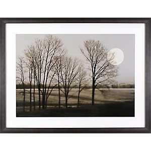 November Moon Framed Art Print