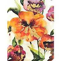 Bright Hibiscus Canvas Art Print