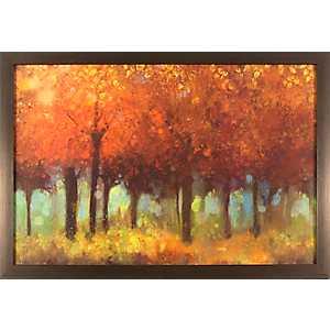Autumnal Trees Framed Art Print