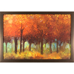 Autumnal Trees Framed Art Print