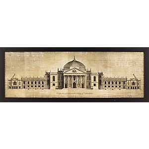 Oxfordshire Palace Framed Art Print