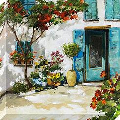 Palazzo Doorway Canvas Art Print