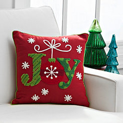 Red Joy Ornament Pillow