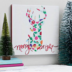 Merry and Bright Deer Box Top