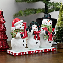 Snowmen Family Joy Figurine