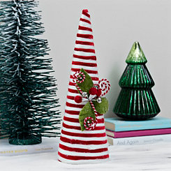 Striped Cotton Candy Cane Tree, 17 in.