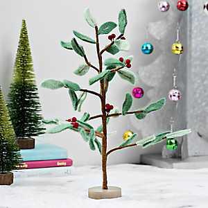 Felt Holly Berry Tree