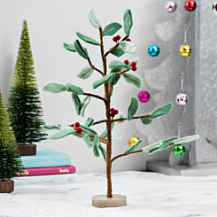 Felt Holly Berry Tree
