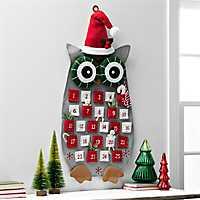 Felt Christmas Owl Advent Calendar