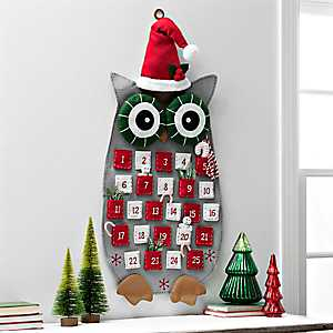 Felt Christmas Owl Advent Calendar