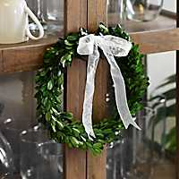 Preserved Boxwood Wreath, 10 in.