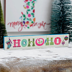 Ho Ho Ho Multicolor Box Top