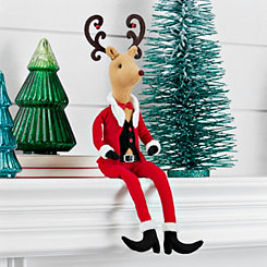 Mr. Reindeer Santa Suit Sitter