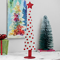 White And Red Polka Dot Tree