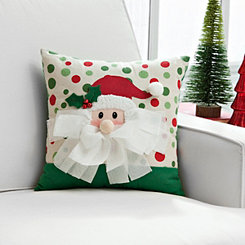 3D Detail Santa Claus Pillow