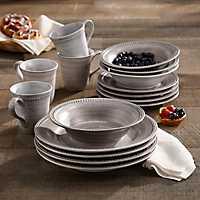 Stone Dots 16-pc. Dinnerware Set