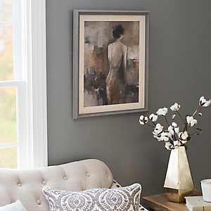 Fond Reflection Framed Art Print