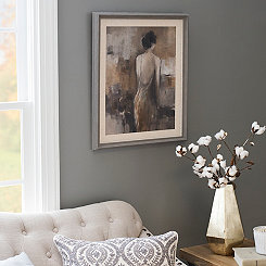 Fond Reflection Framed Art Print