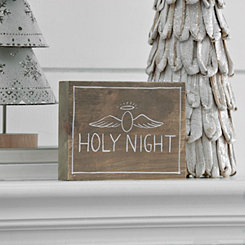 Holy Night Wood Block