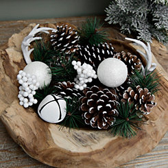 Pine Cone, Antler, and Bells Christmas Filler