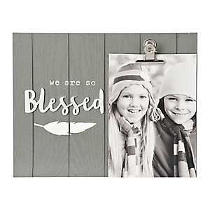 Blessed Natural Charm Picture Frame