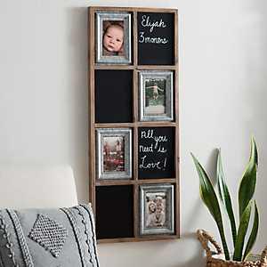 Charleigh Chalkboard Collage Frame