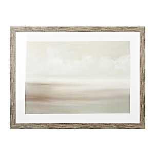 Gray Skies Framed Art Print