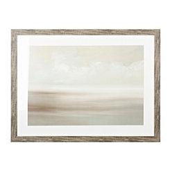 Gray Skies Framed Art Print