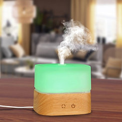 Frosted Glass Cube Essential Oil Diffuser