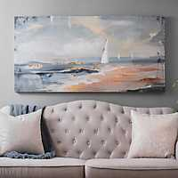 Abstract Seascape Canvas Art Print