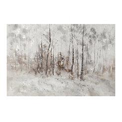 Winter Trees Canvas Art Print